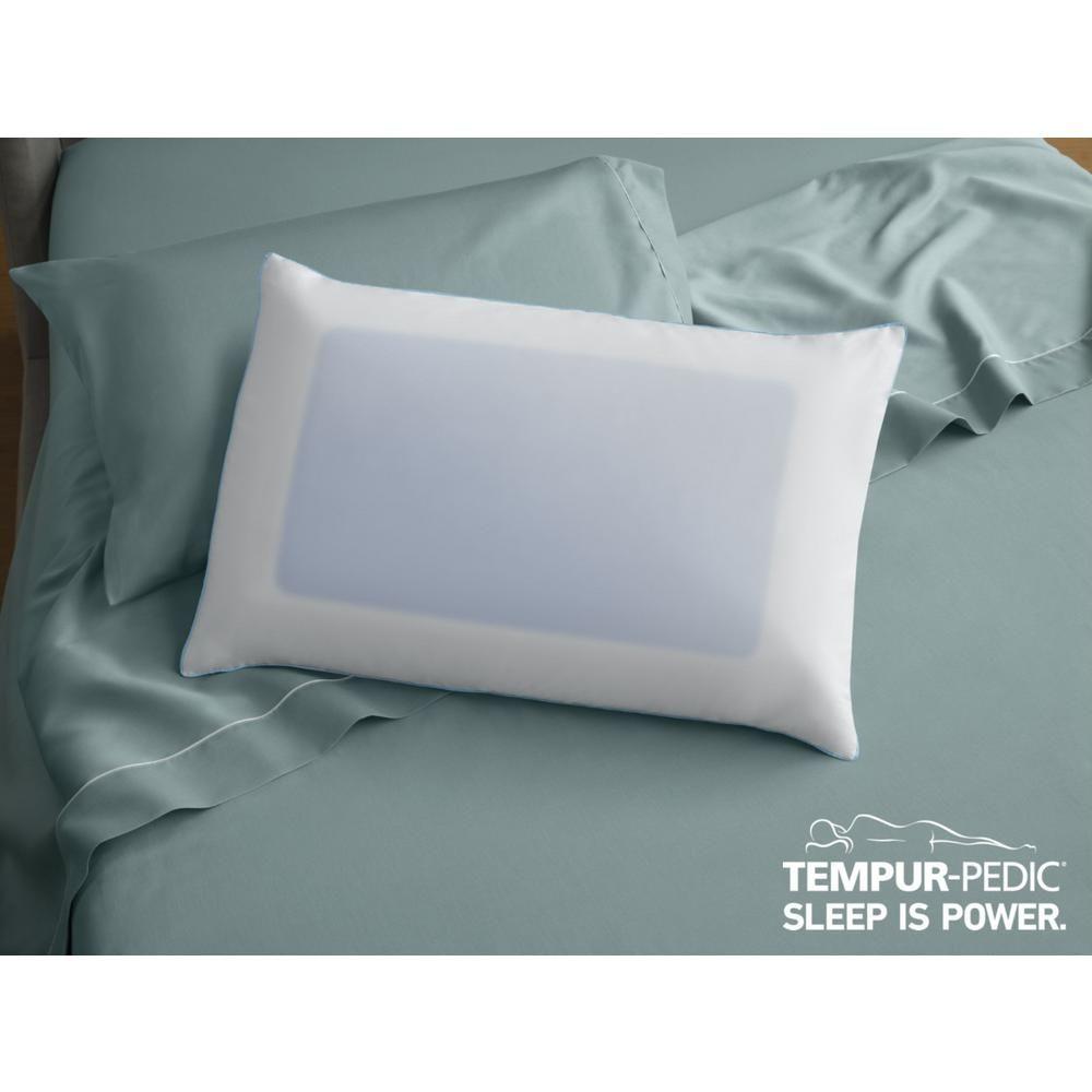 Tempur Pedic Cloud Breeze Dual Cooling Foam King Bed Pillow Bed Pillows Pillows King Beds Tempurpedic pillow cloud breeze dual cooling