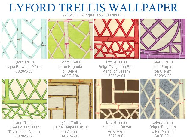 China Seas Lyford Trellis Wallpaper Group In 2019 Trellis