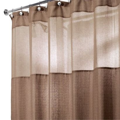Shower Curtain Target Sheer Top To Let Light From Window