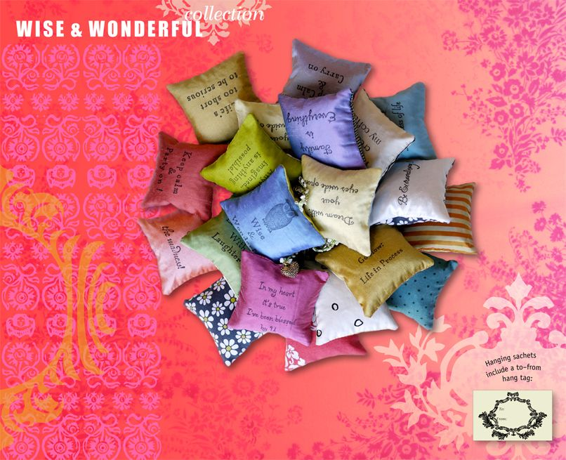 wise & wonderful sachets