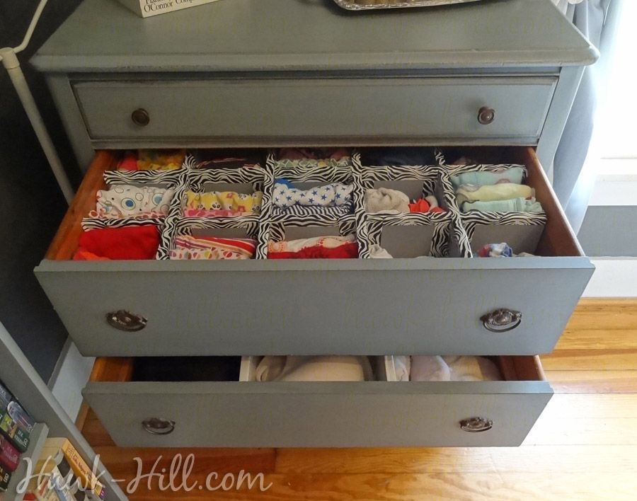 """How To Make Durable Drawer Dividers For Pennies"" By Hawk"