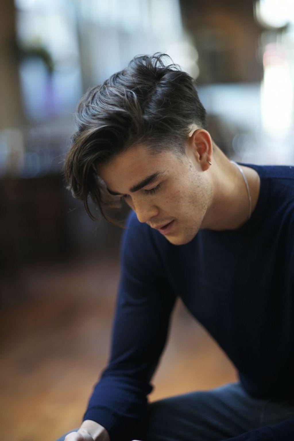 Mens short undercut haircut asiatische frisuren der männer asiatische frisuren der männer