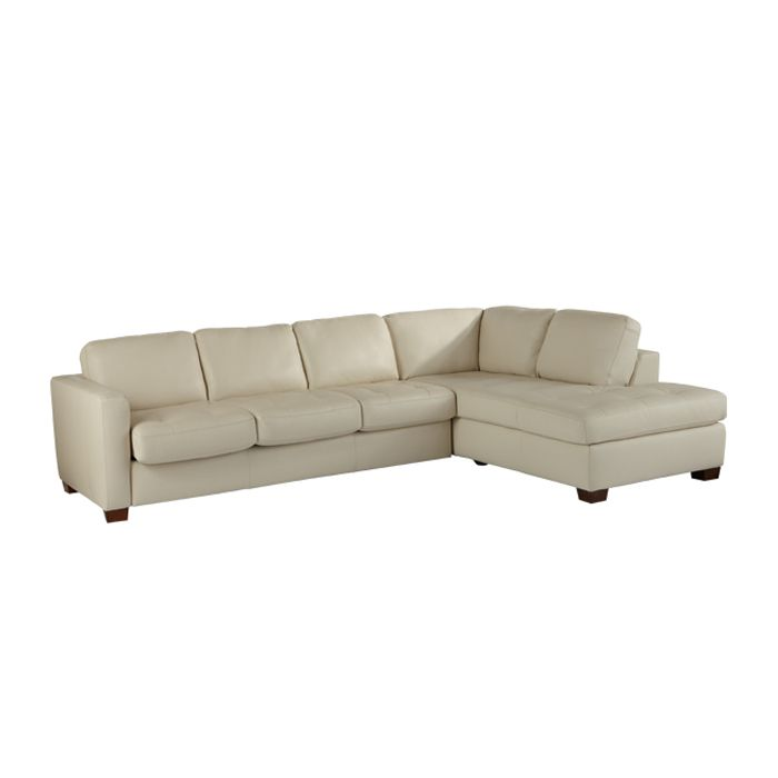 St denis leather sectional sectionals living room for Mobilia furniture