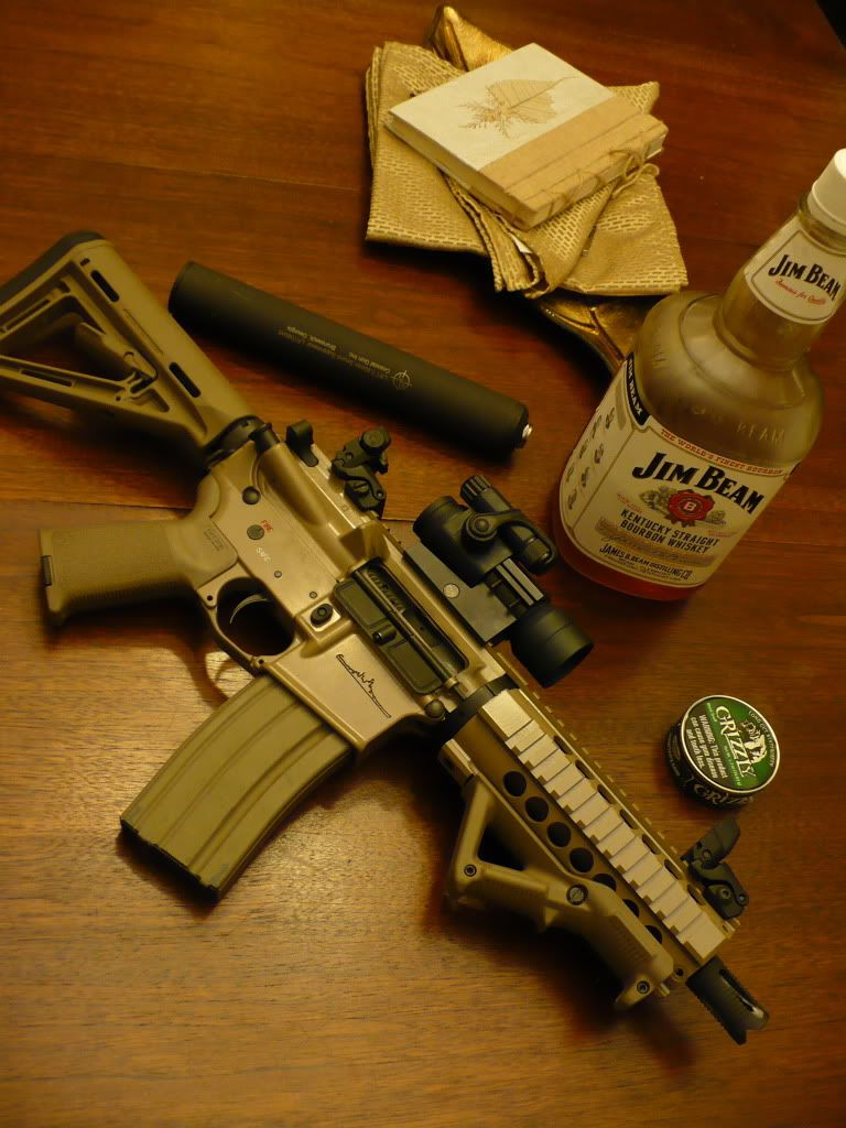 short barrel ar 15 build 7 inch barrel i like the jim and grizzly