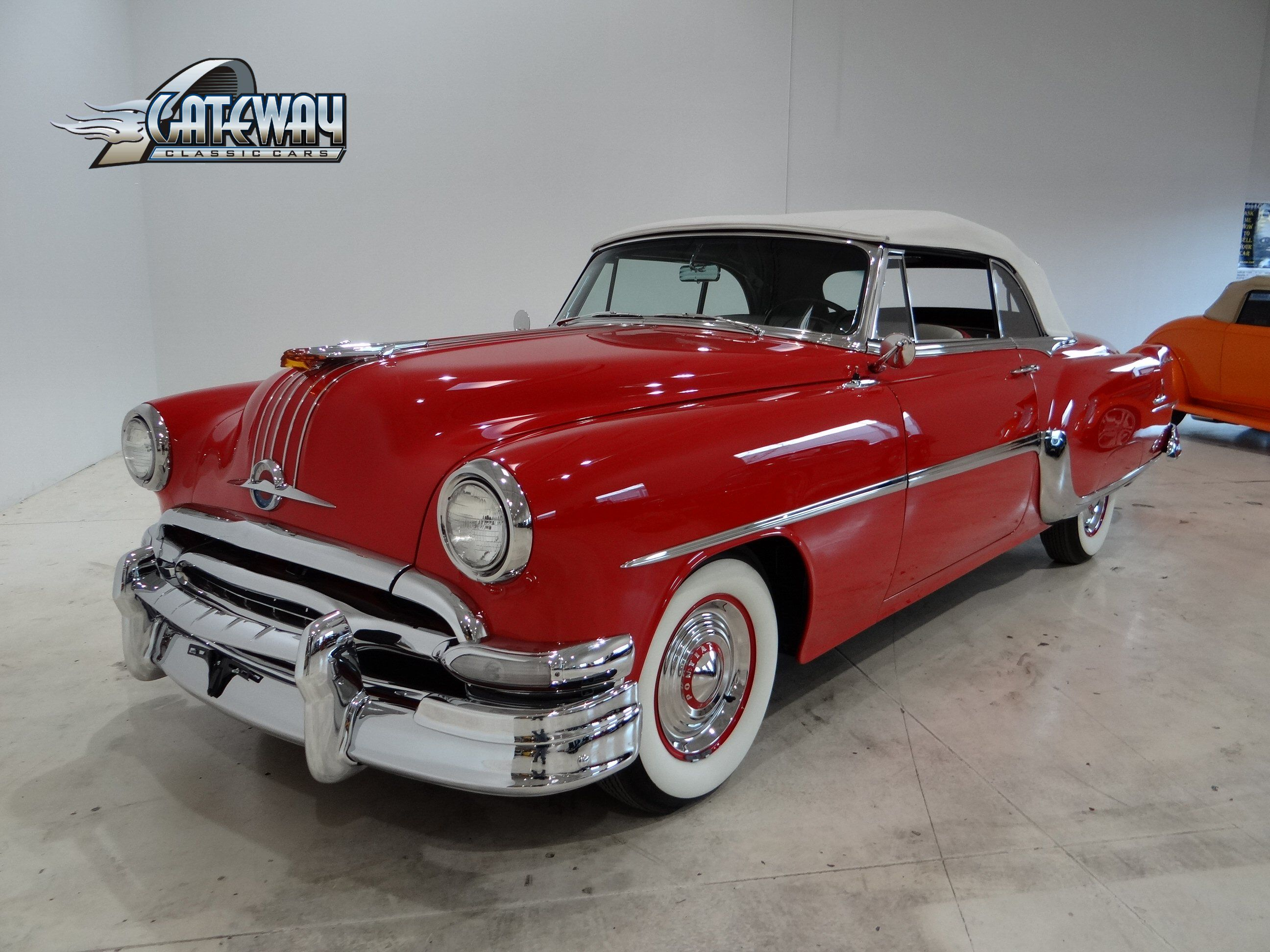 1954 pontiac star chief convertible for sale gateway classic cars
