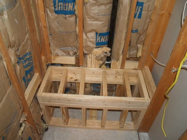 Shower Bench Block Vs Frame Ceramic Tile Advice Forums John Bridge