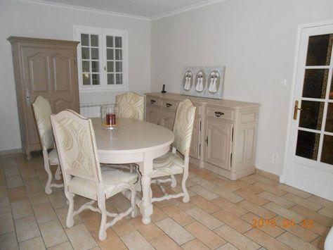 Relooking d\u0027une salle à manger rustique en chêne massif à Lambesc