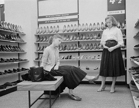 The Shoe Store Retro Shoes Shoe Shop Vintage Shoes