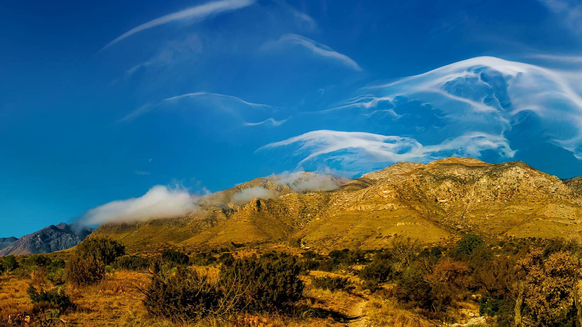 4月30日、グアダルーペ山脈の巻雲