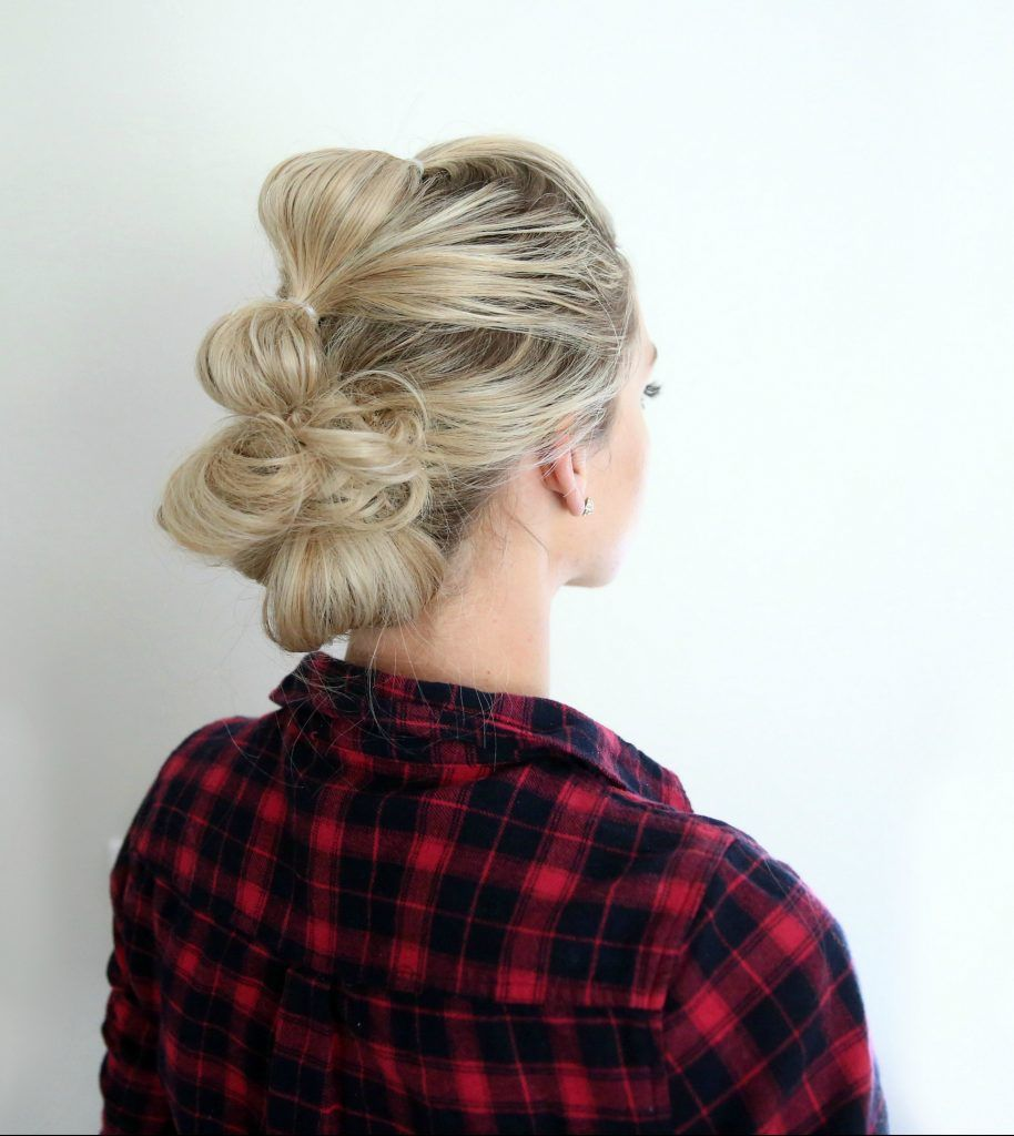 Bubble updo cute girls hairstyles hair pinterest girl