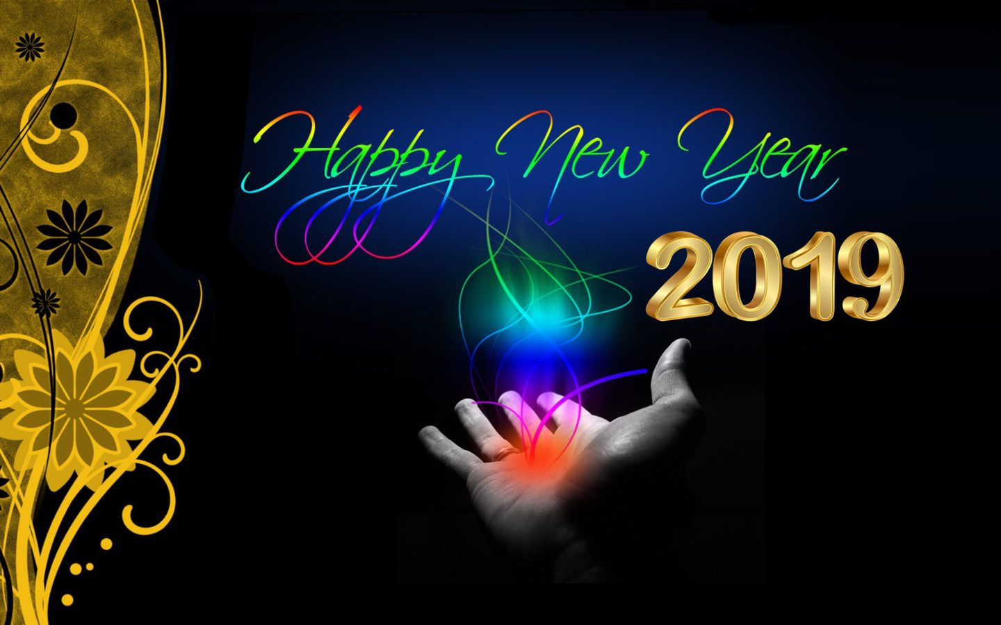 Desktop Wallpaper 2018 Images For Happy New Year Day Happy New Year Wallpaper Happy New Year Fireworks Happy New Year Images