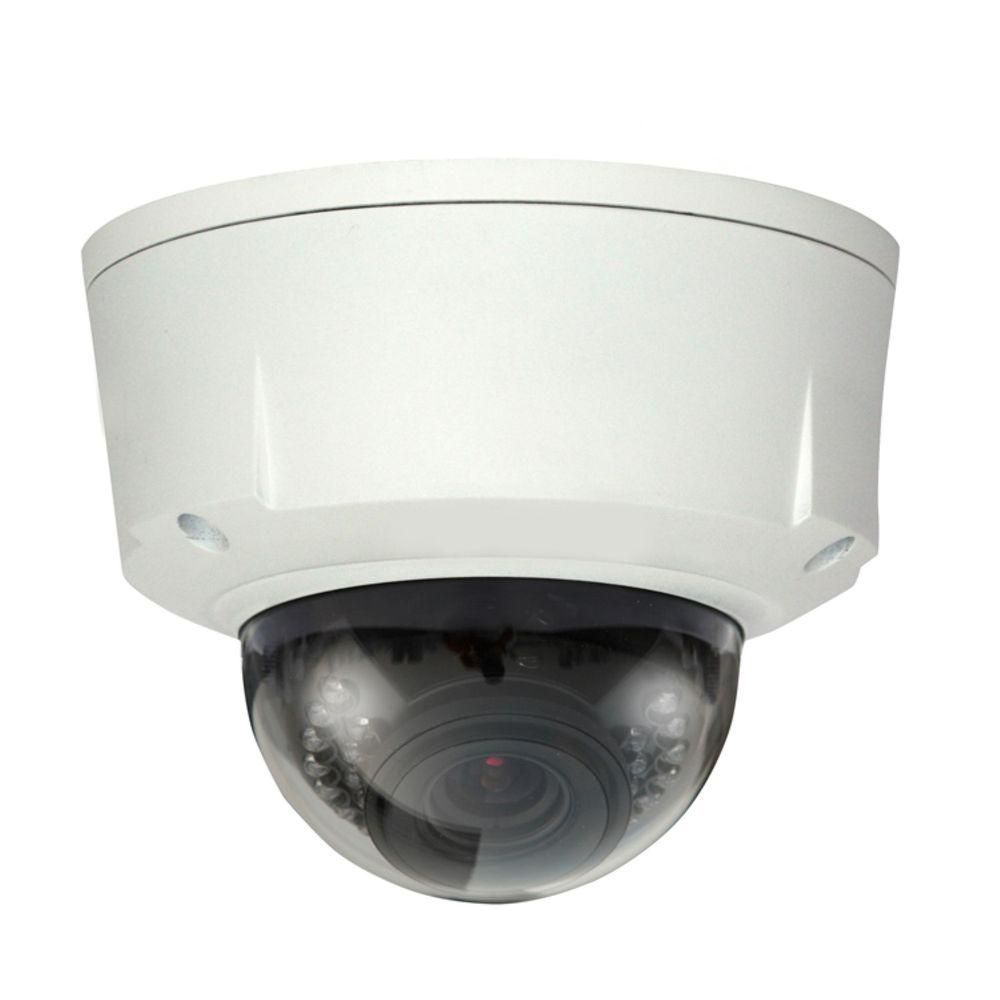 Unbranded Seqcam Wired 1 3 Megapixel Waterproof And Vandal Proof Ir Network Dome Indoor Or Outdoor Standard Surveillance Camera Seqhdbw5100 The Home Depot In 2020 Dome Camera Wireless Home Security Systems Surveillance Camera