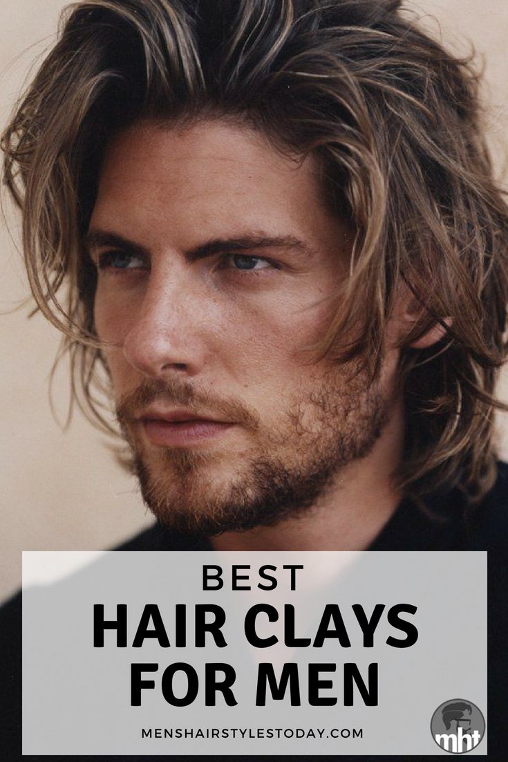 Haircuts for men with straight fine hair best hair clays for men   hair  pinterest  hair clay and haircuts