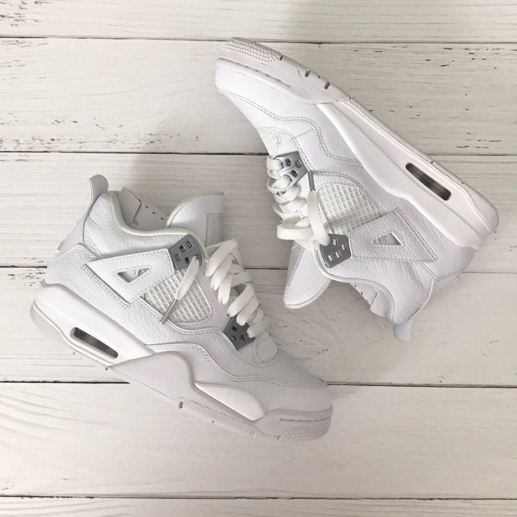size 40 55f78 aa333 Jordan Shoes | Air Jordan 4 Pure Money | Color: White | Size ...
