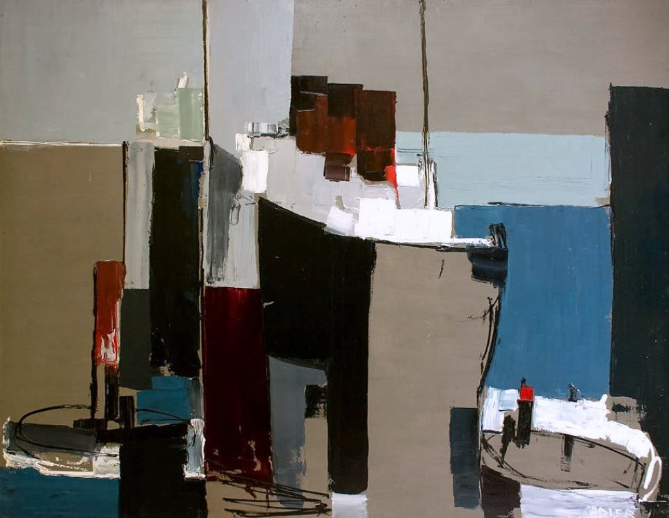 contemporary abstract artists uk