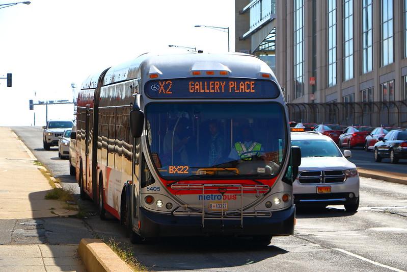 WMATA Metrobus 2008 NABI 60BRT CNG 5405 in 2020 Dc