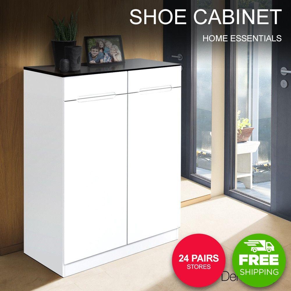 High Gloss Shoe Cabinet Rack Black White Shoe Cabinet Wooden Shoe Cabinet Cabinet