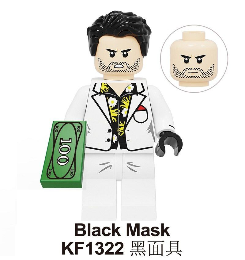 Black Mask Birds Of Prey In 2020 Black Mask Lego Mini Figures