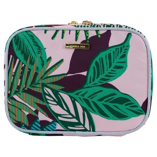 Beauty Organizer Sophia Joy Tropical Prep 3 Piece Cosmetic Bag Target