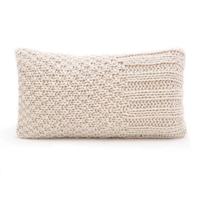 Knit Pillow | Knitting | Pinterest | Almohadones tejidos, Tejido y Manta