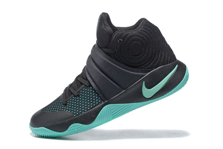 "super popular f00d2 75552 Nike Kyrie 2 ""Kyrie-Oke"" Black Green Glow For Sale"