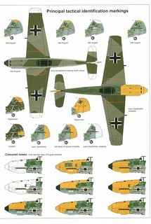 (For Aero Modelers) Messerschmitt Bf 109 E Camouflage and …   Flickr