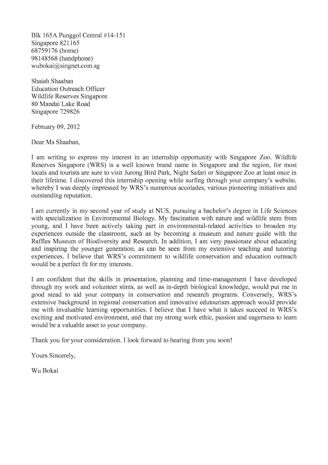 Winning Cover Letter Sample Letter Of Application Or The Application Letter Is Document