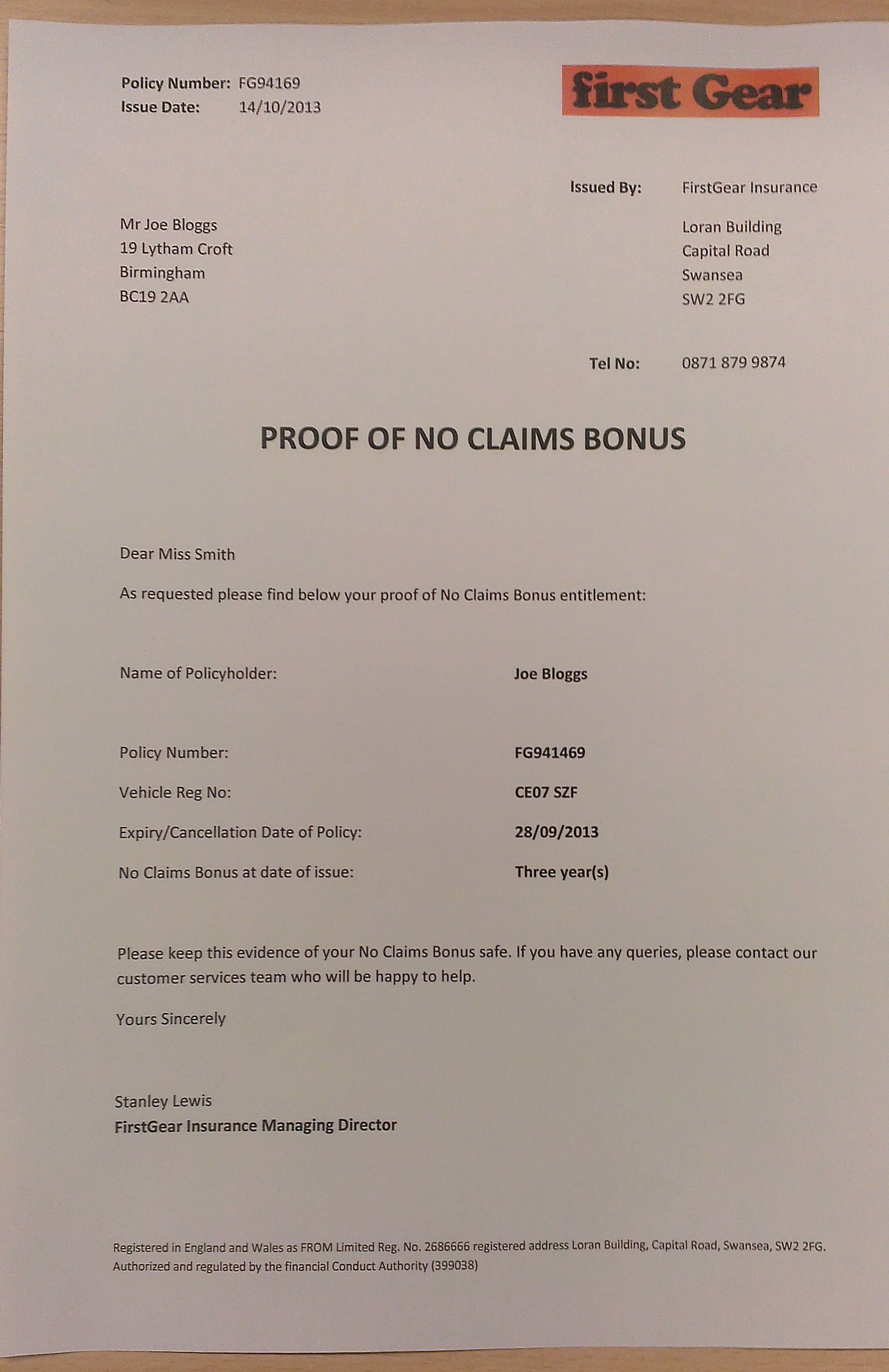 A Letter With A Request For A Discount Claims