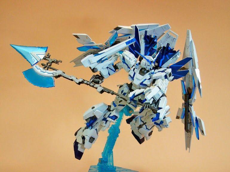 GUNDAM GUY: 1/144 RX-0 Full Armor Unicorn Gundam Plan B - Custom Build