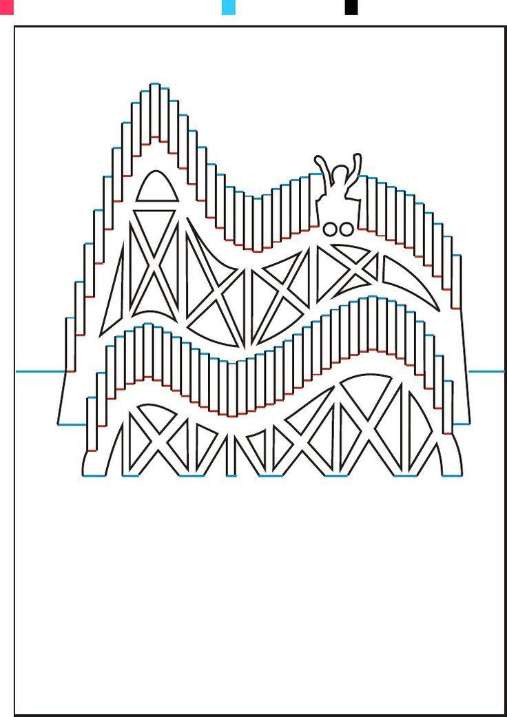 Днем, открытки оригами шаблоны