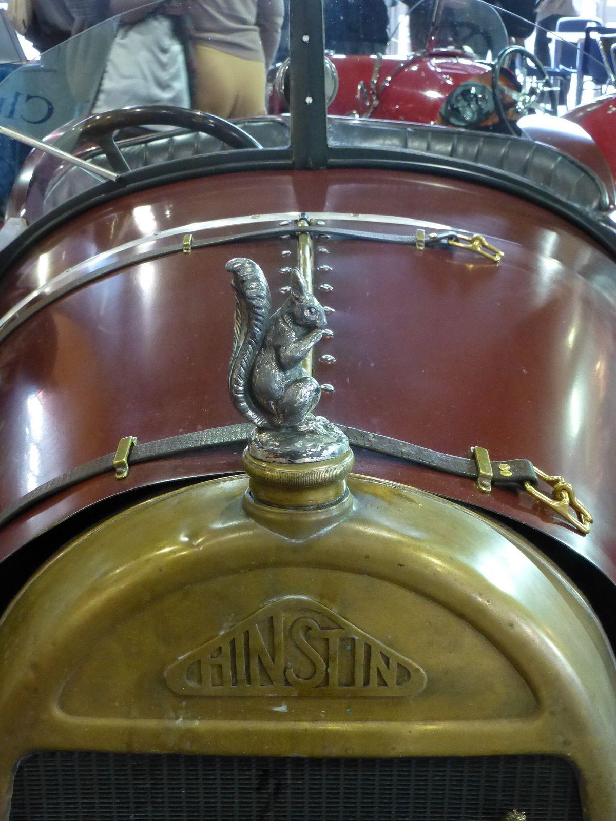1920 Hinstin Cyclecar - hood ornament