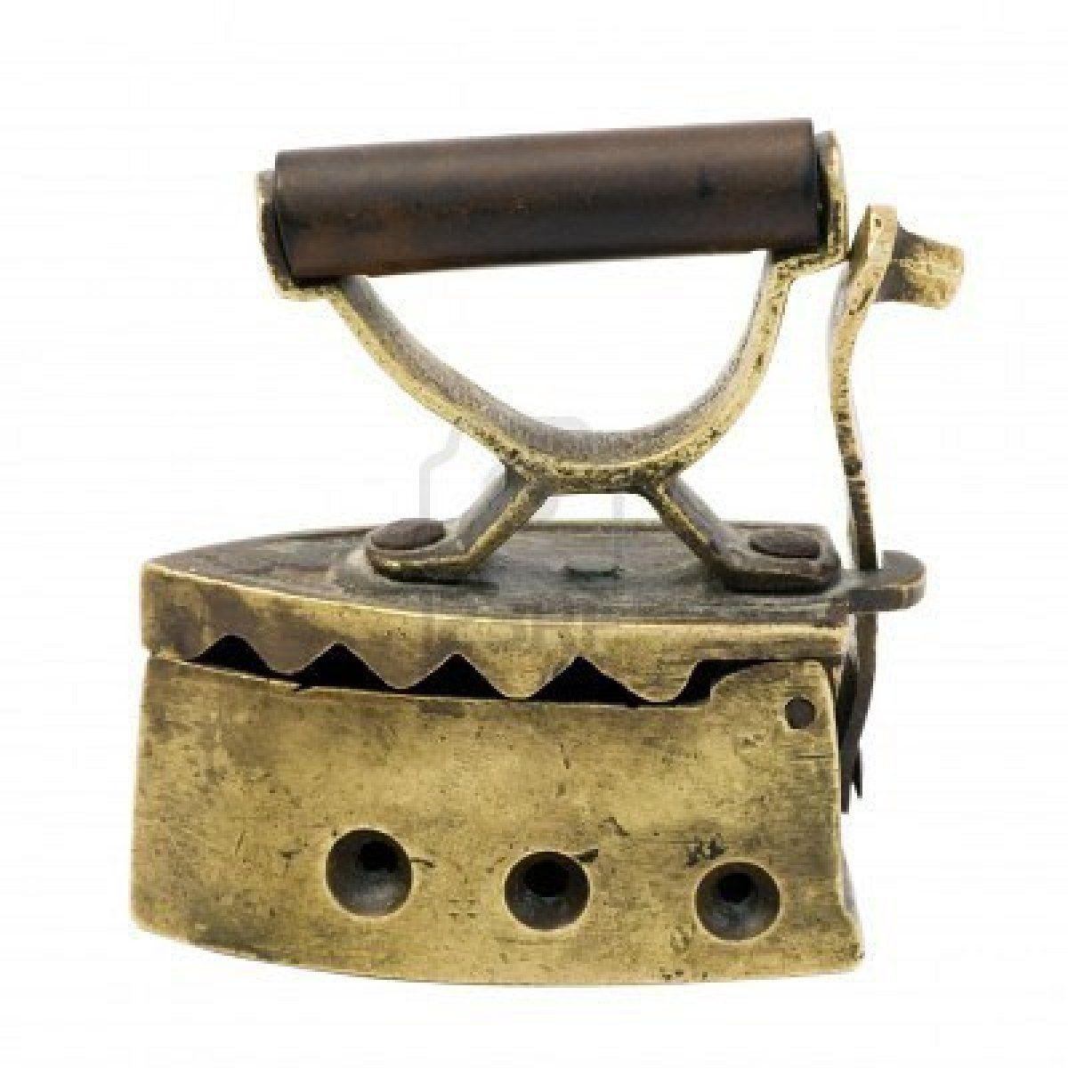 Old Vintage Miniature Charcoal Iron Antique Iron Vintage Iron