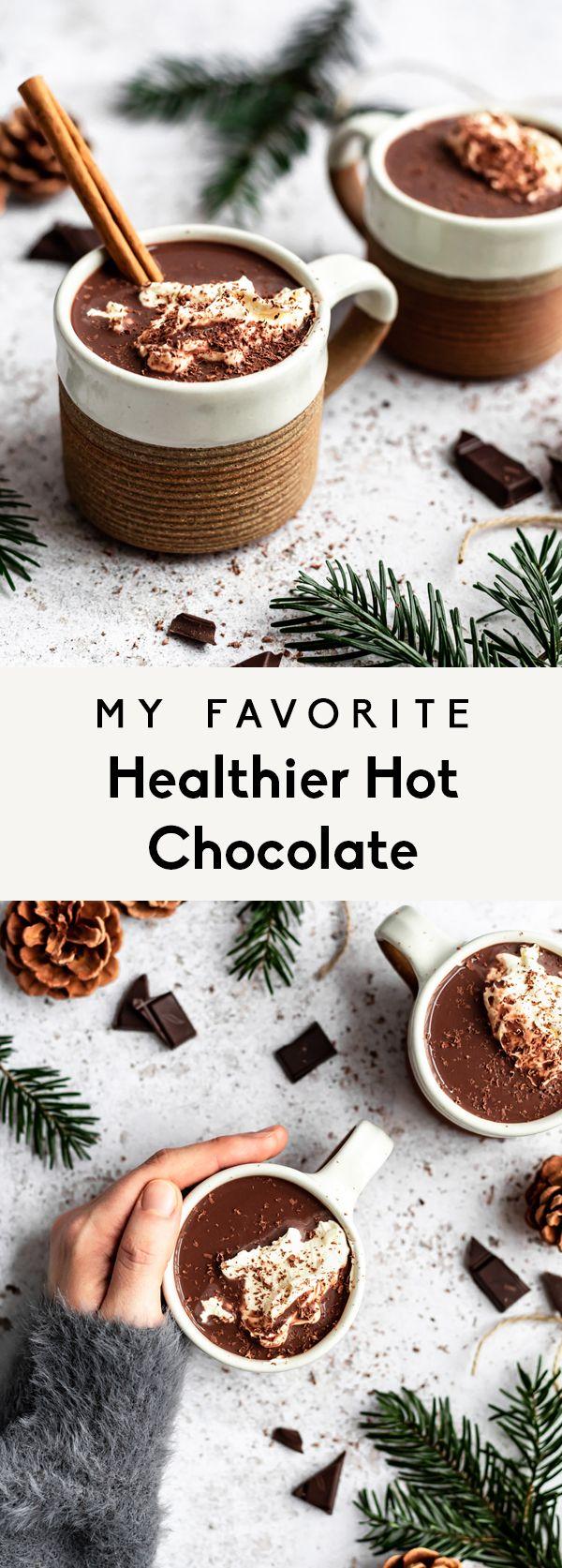 Healthy Hot Chocolate Recipe Vegan Dairy Free Ambitious Kitchen Recipe Healthy Hot Chocolate Healthy Hot Chocolate Recipe Hot Chocolate Recipe Vegan