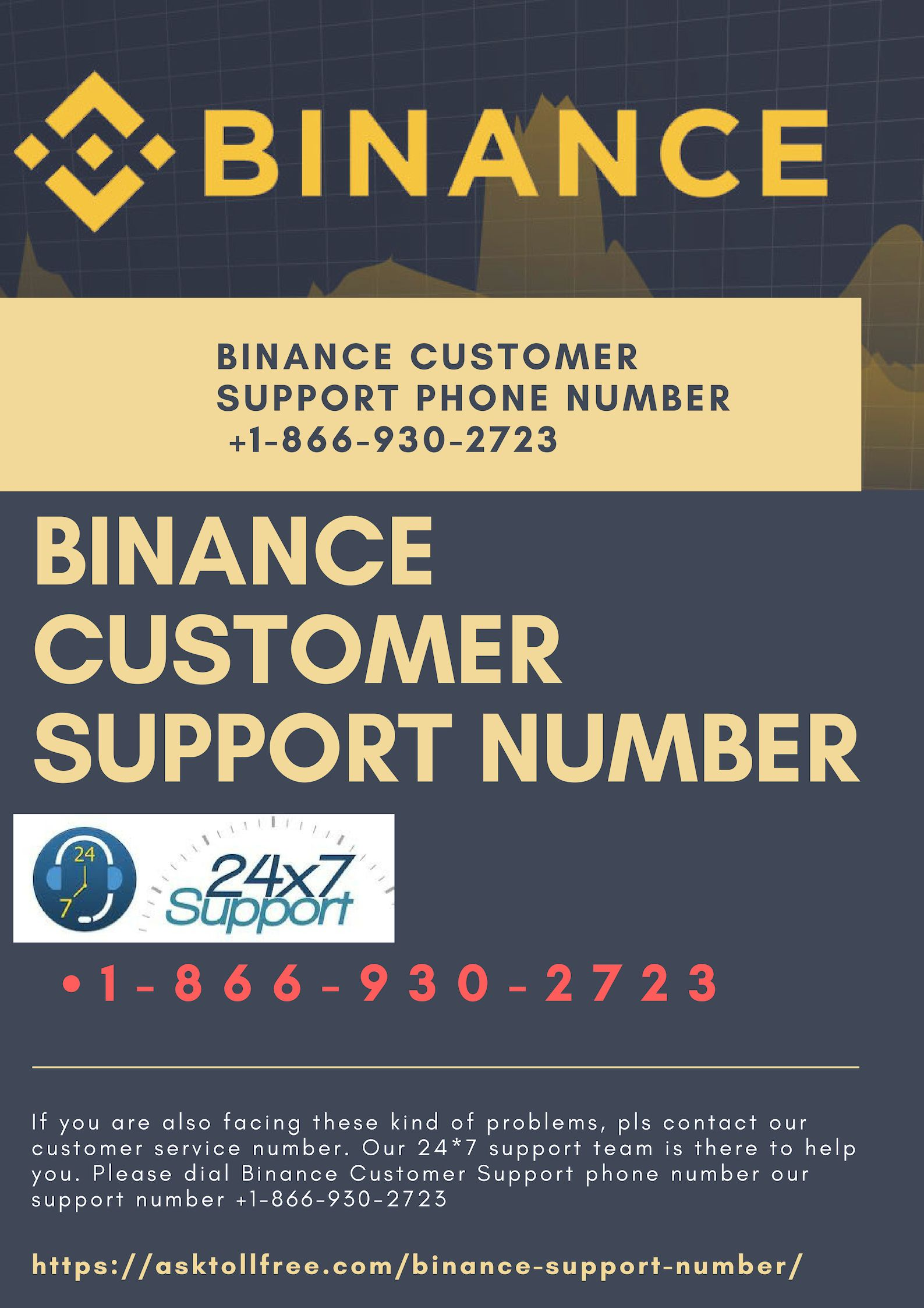 Binance Support Number 【+18886951272】 Phone Number