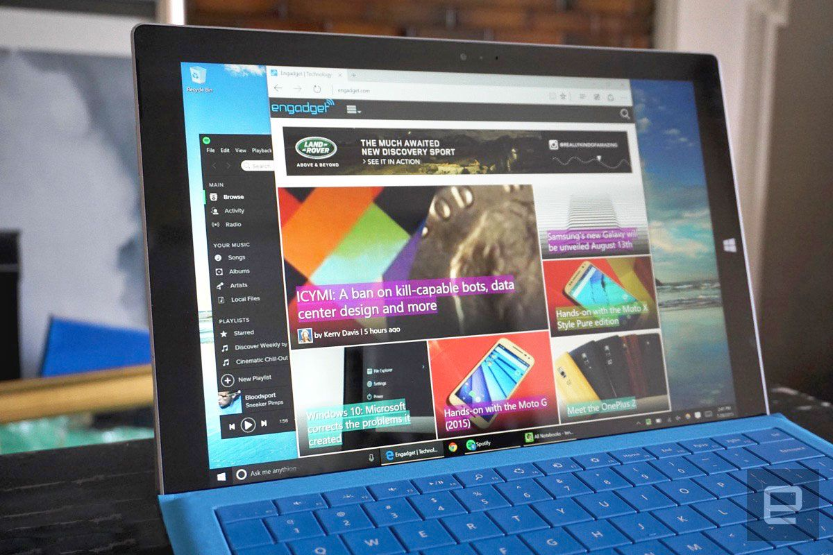 Microsoft is still bragging about Edge's battery