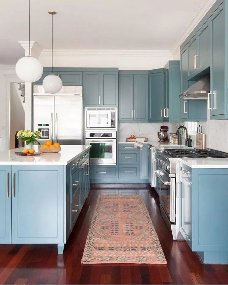 48 Farmhouse Blues Kitchen Ideas 9 Con Imagenes Cocinas