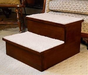 Best Solid Maple Pet Two Step With Bing Cherry Finish Pet 400 x 300
