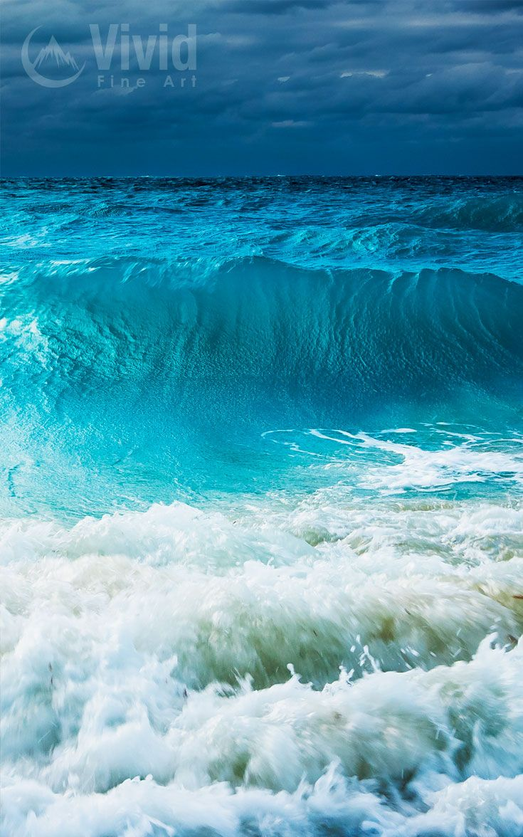 Ocean Wave Photo Bedroom Art Turks And Caicos Storm Wall Art Office Art Gift Framed Prints Water Landscape Ocean Picture Grace Bay Ocean Waves Photos Landscape Photography Landscape Photography Nature