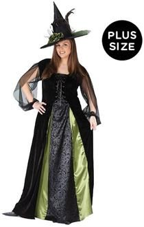 a306f3fa0 SpicyLegs.com - Goth Maiden Witch Adult Plus Costume | Halloween ...
