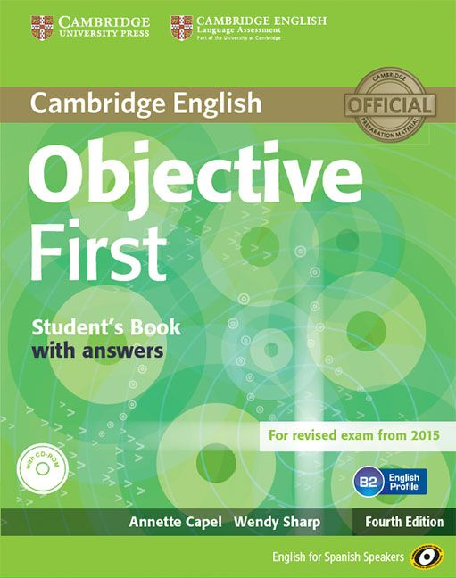 objective first 4th ed student s book with answers with cd rom