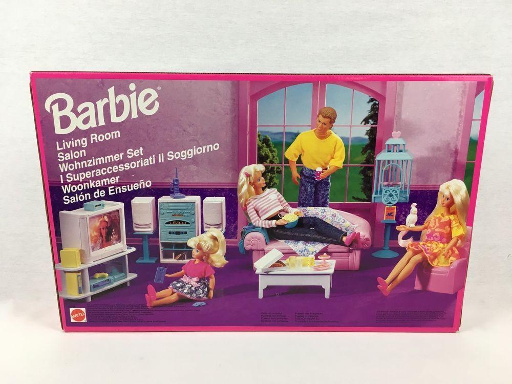 Barbie Living Room Furniture Set 67199