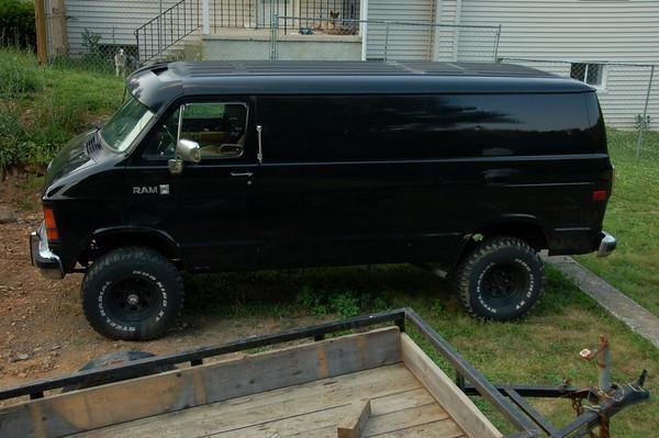 4x4 Dodge Van Dodge b 250 ram van   Camper Van   Pinterest   Ram van
