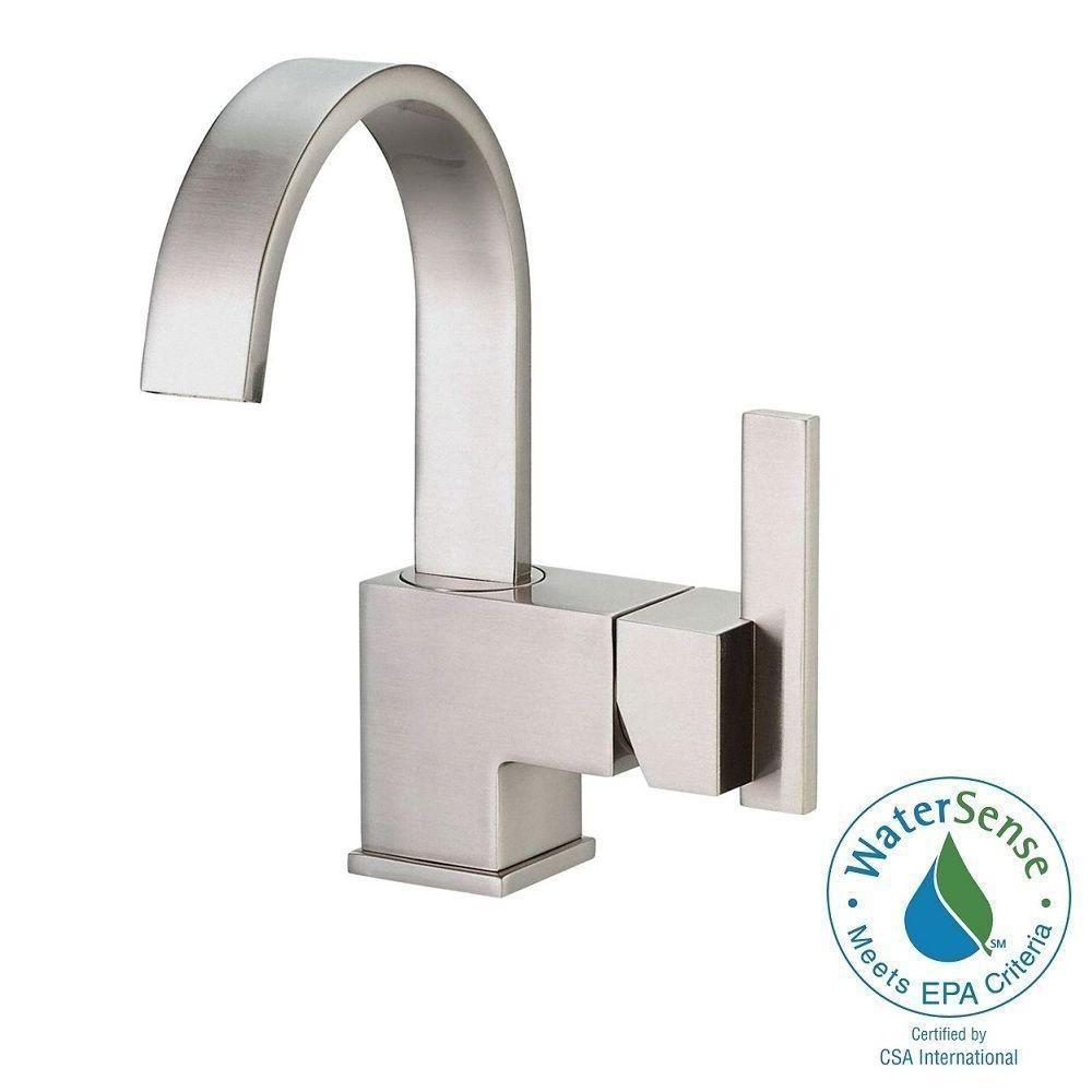 Danze Sirius 4 in. Centerset Single-Handle Bathroom Faucet in ...