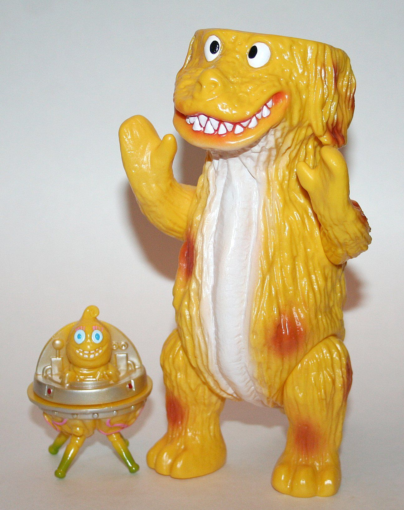 Agree, excellent monster toy with asian girl