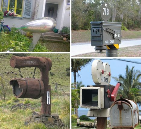 Special Delivery 54 Amazing Unusual Mailbox Designs Urbanist Mailbox Design Mailbox Makeover Mailbox
