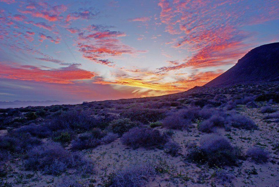 Sunset in La Graciosa (the Canarias Islands) Por Fin Colours, online store  https://www.facebook.com/pages/Por-Fin-Colours/492849517507719