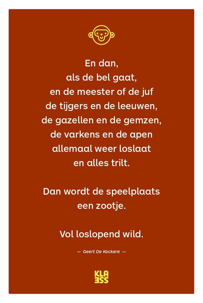 Verwonderend Hang je school vol poëzie | Onderwijs citaten, Gedichten DE-13