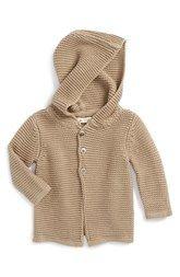 Peek 'Avery' Hooded Cardigan (Baby)