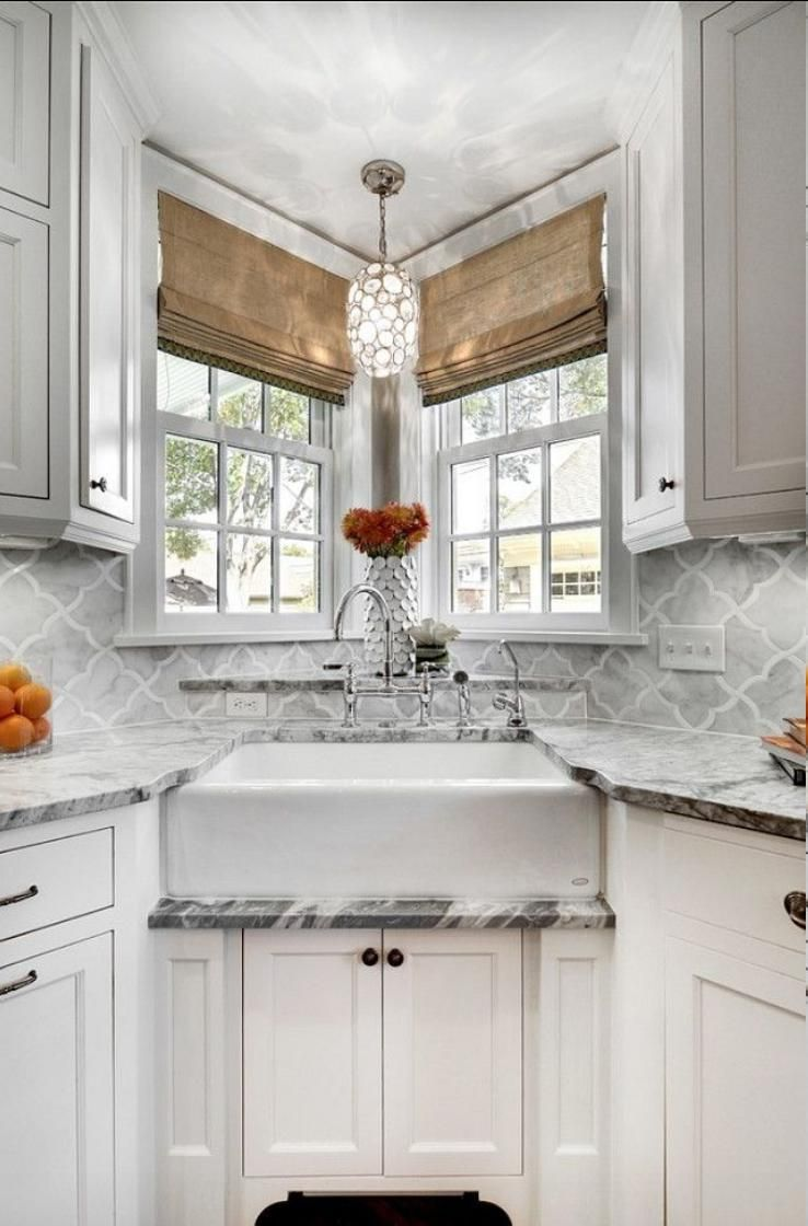 Corner kitchen sink cabinet is one of the good things that you can ...