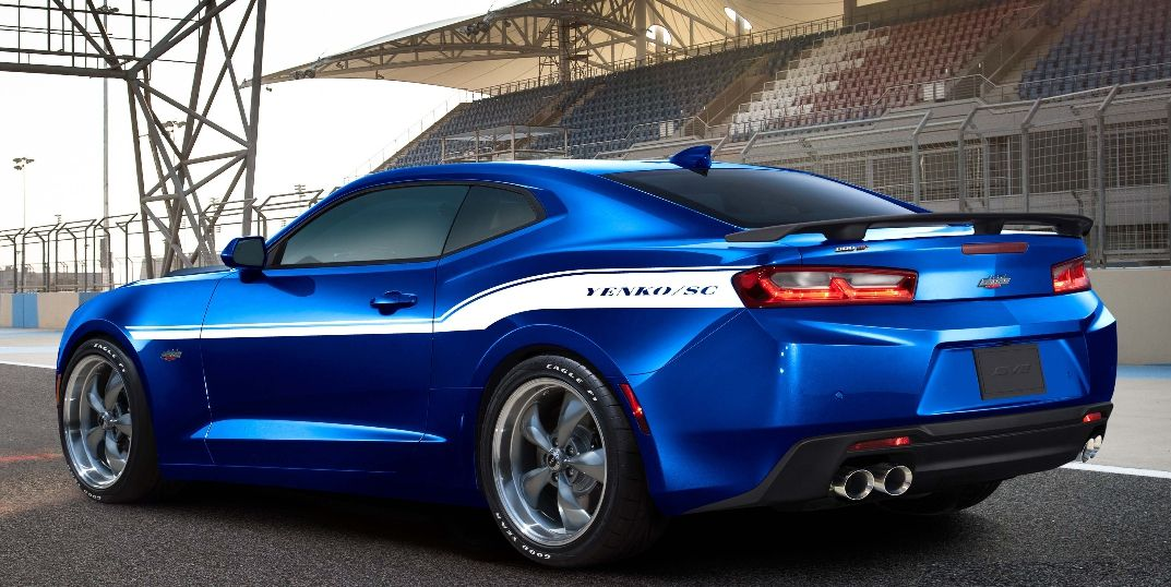 Blue 2017 Camaro Yenko/SC Edition | Fan of | Chevrolet ...